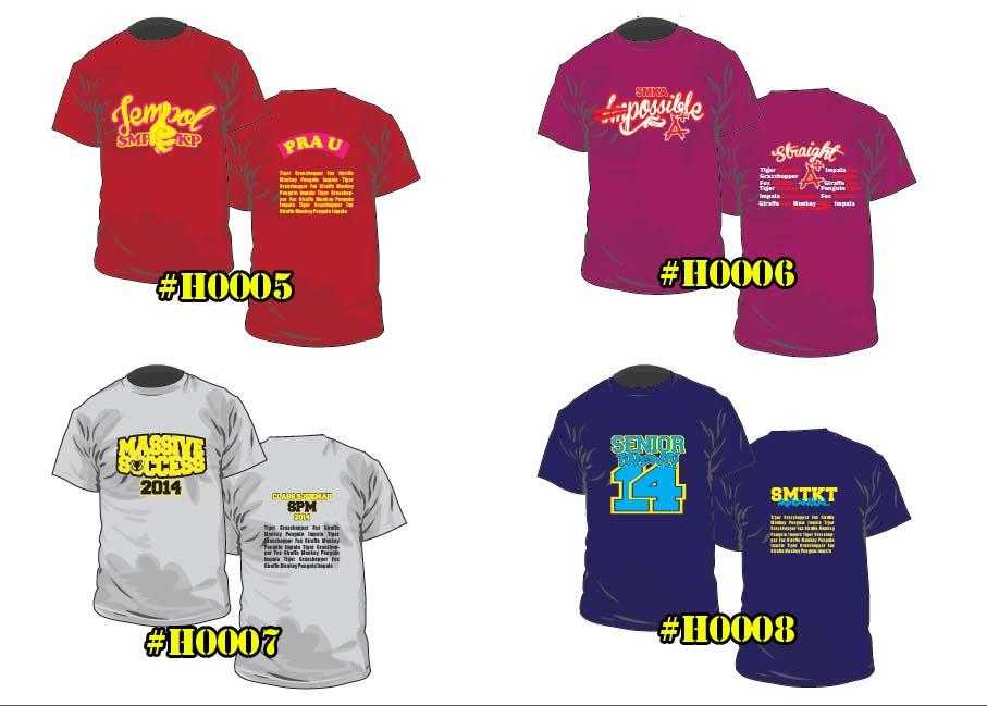 Baju Kelas H0005 ke H0008