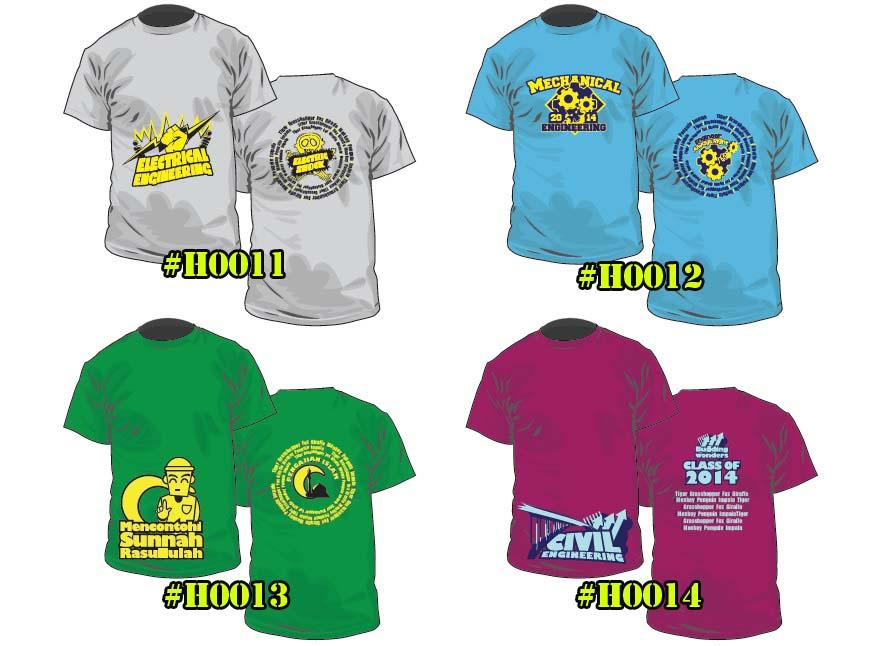 Baju Kelas H0011 ke H0014