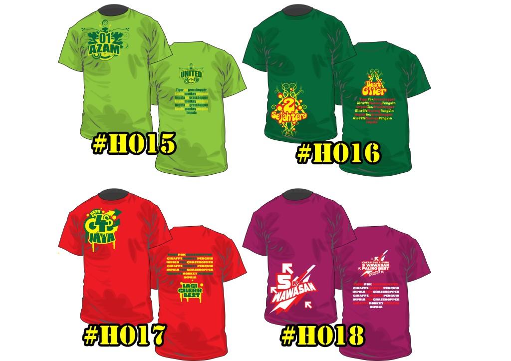 Baju Kelas Hisamudin H0015 ke H0018