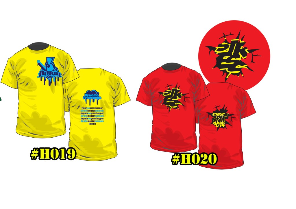 Baju Kelas Hisamudin H0019 ke H0020