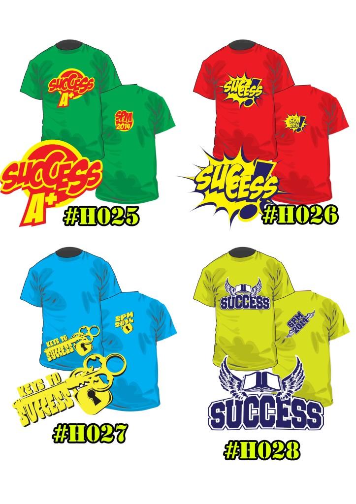 Baju Kelas Hisamudin H0025 ke H0028